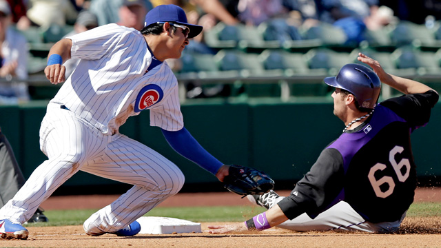 Jackson strong in spring debut with Cubs