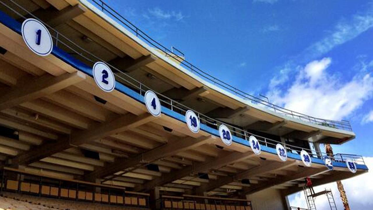 Dodgers unveil ballpark enhancements