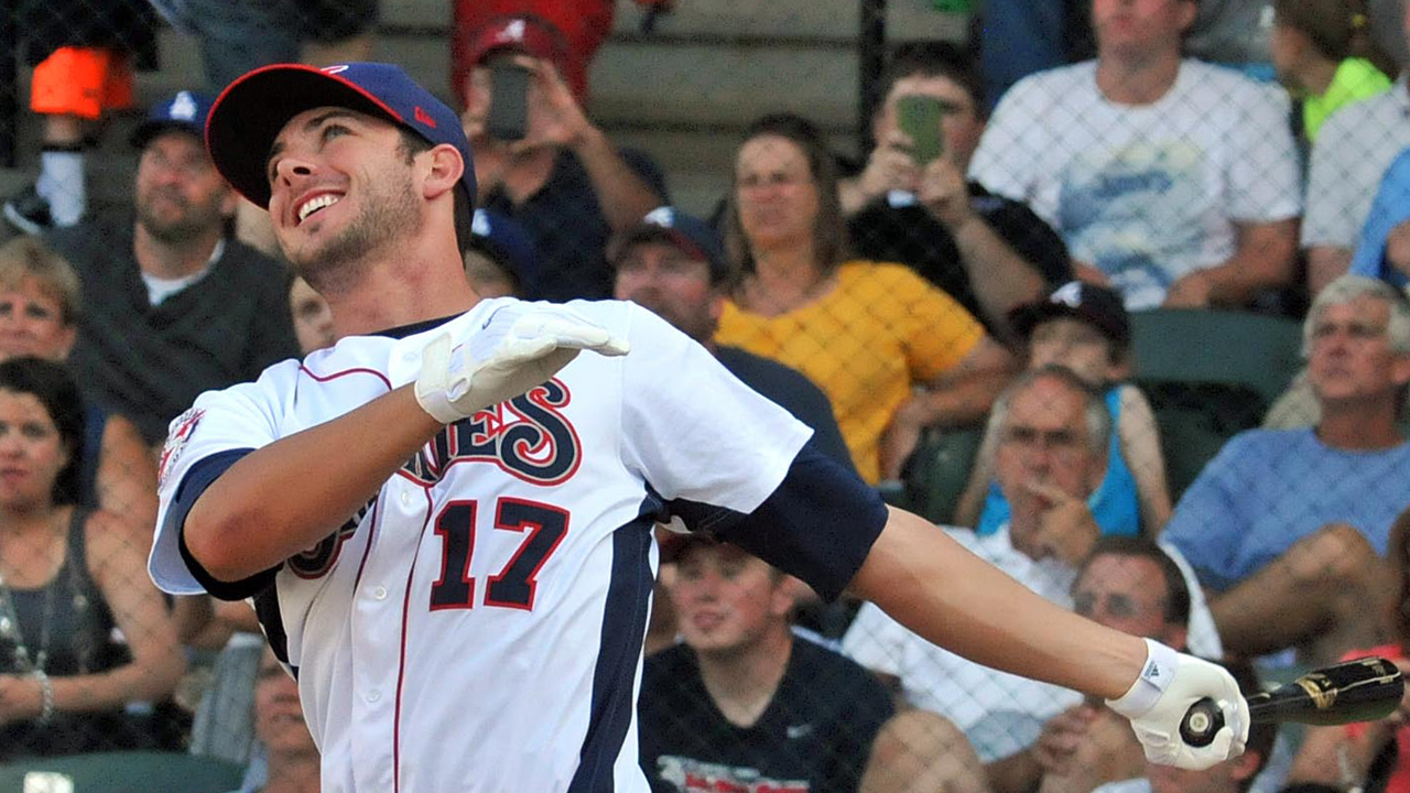 Bryant slugs way to Double-A Home Run Derby crown