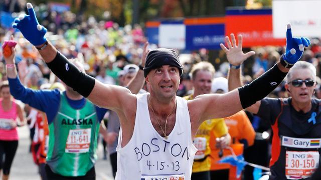 NYC Marathon pays tribute to Boston Marathon victims