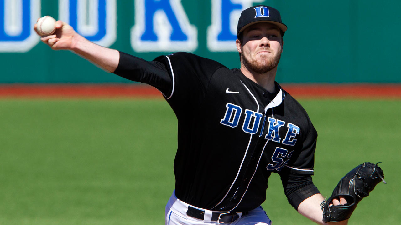 Duke righty Van Orden drafted in Round 5 by Nats