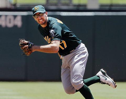 Adam Rosales regresa a Oakland en cambio con Texas