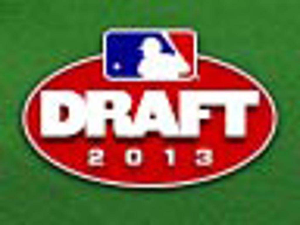 A's take free-swinging Higley in 13th round