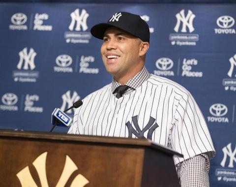 Los Yankees presentaron al J boricua Carlos Beltrán