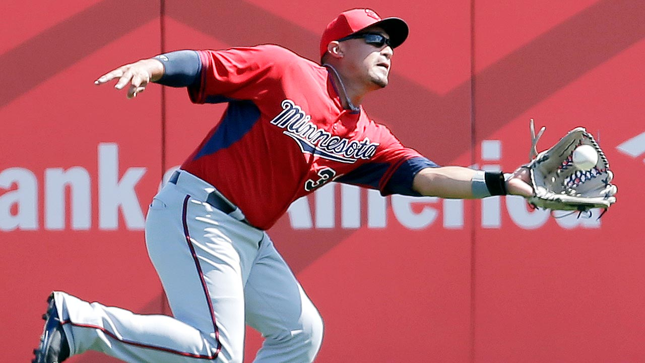 Hughes solid, Buxton hitless in Twins' loss to Fish
