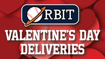 Orbit Valentine's Day Deliveries