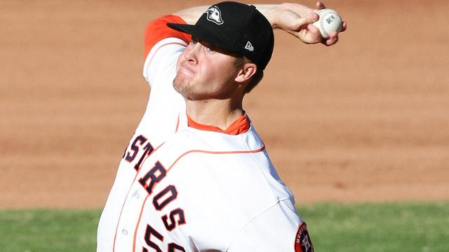 Dufek showcasing power arm in Arizona Fall League