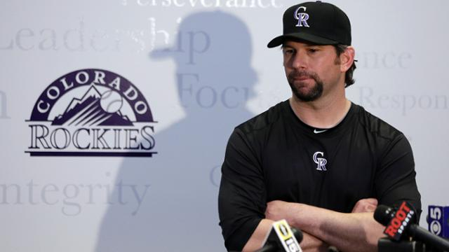 Helton apologizes for arrest, grateful for support