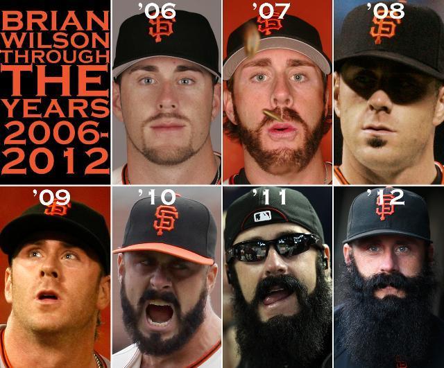 Brian wilson beard dodgers
