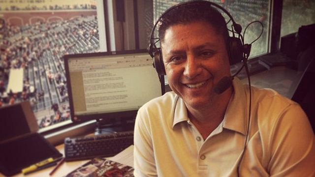 Higueros' hard work lands him in broadcast booth