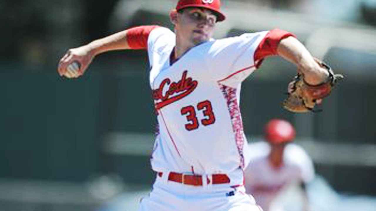 Crew adds pitching depth with Burkhalter in 6th