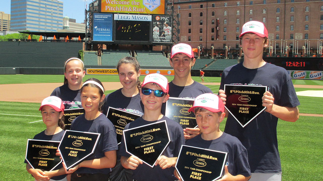 Orioles host Pitch, Hit & Run competition