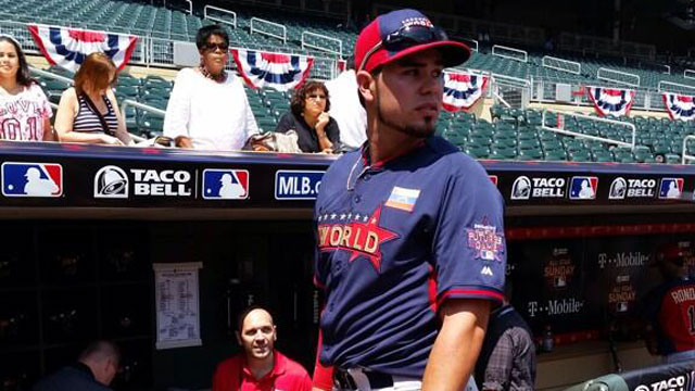 A's prospect Nunez notches hit in Futures Game