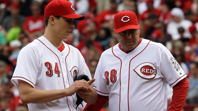 Accountability instilled in Reds' pitching staff