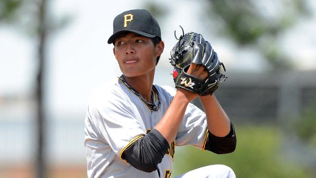 Bucs lose left-hander Wang, add three in Rule 5 Draft