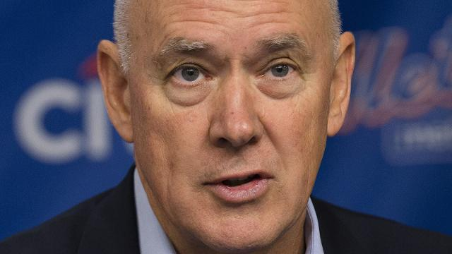 "Sandy Alderson: ""It's one thing to have the data. It's another thing to actually execute on the field level."" (AP)"