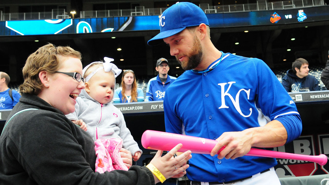 Honorary Bat Girl receives Royal treatment