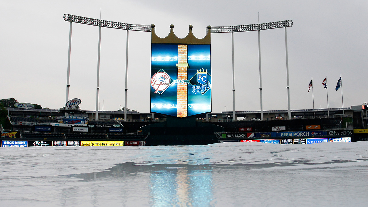 Yankees-Royals finale postponed by rain