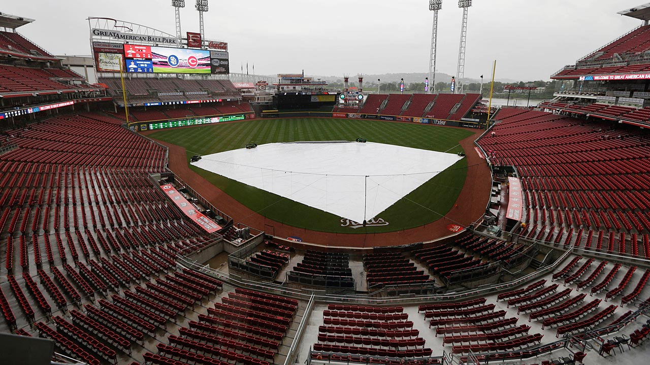 Bochy hoping weather cooperates in Cincinnati