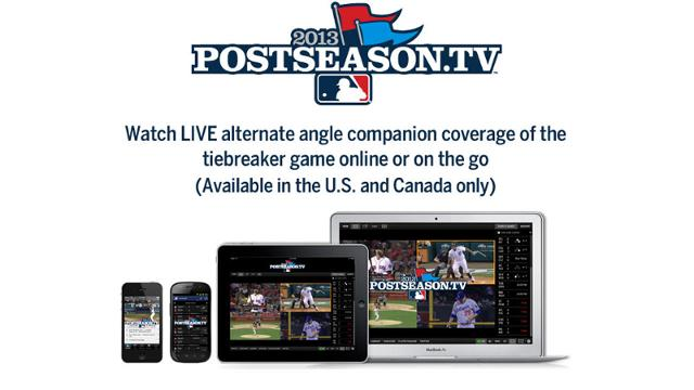 Get full picture of Tigers-A's with Postseason.TV
