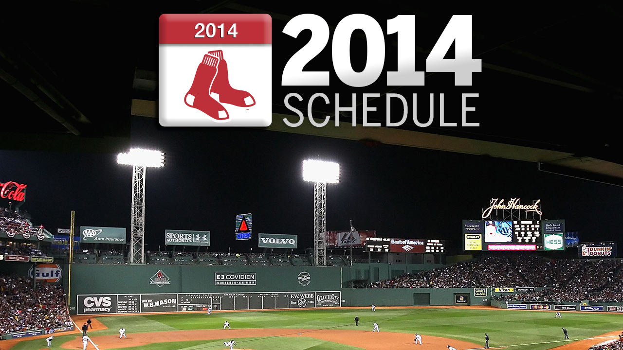 Red Sox to open 2014 slate in Baltimore