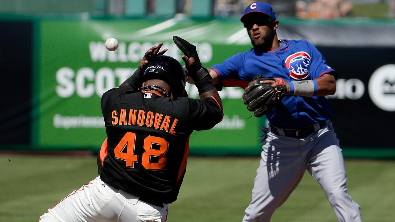 Samardzija solid as Cubs rally past Giants
