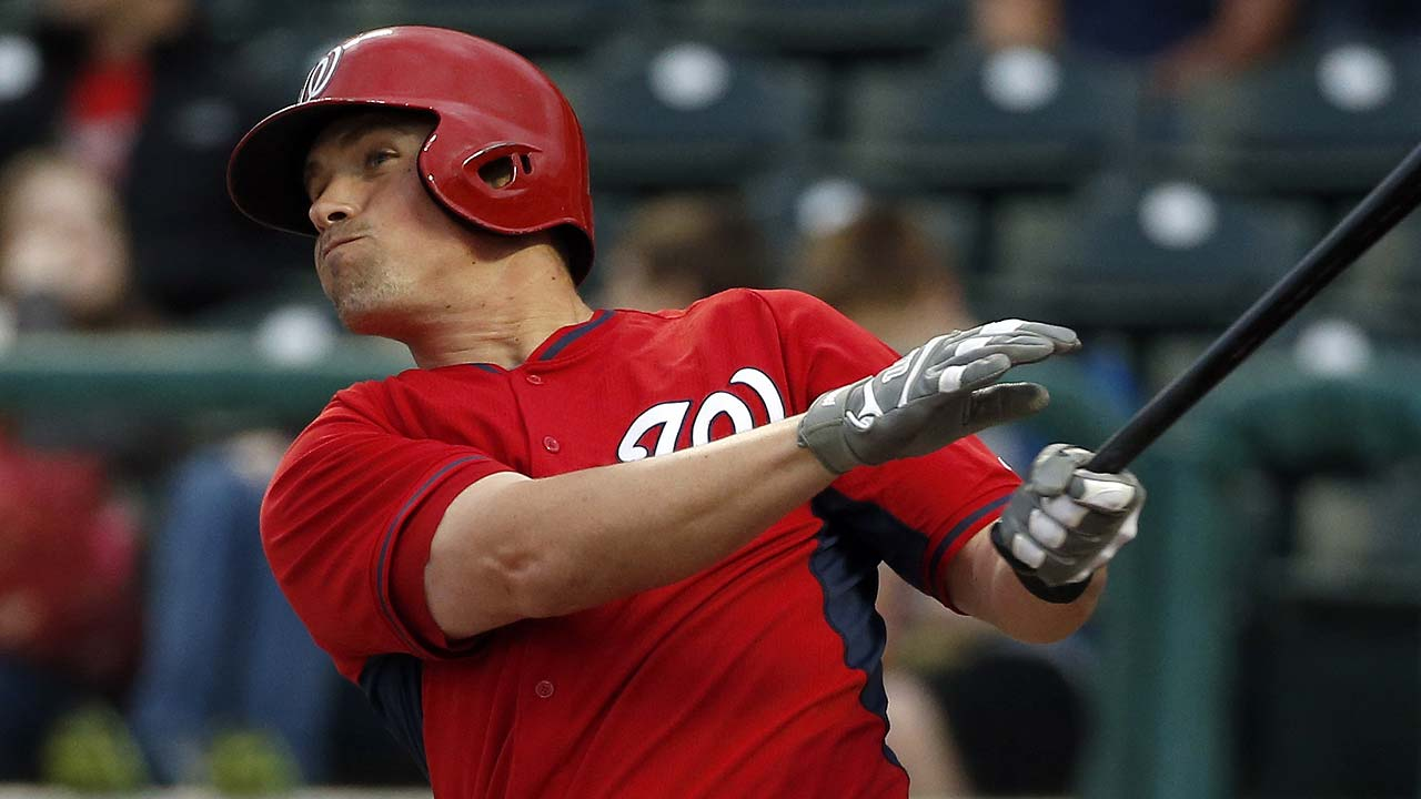 Moore, Hairston homer as Nationals outslugged