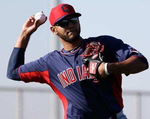 Indios suben al lanzador dominicano Danny Salazar