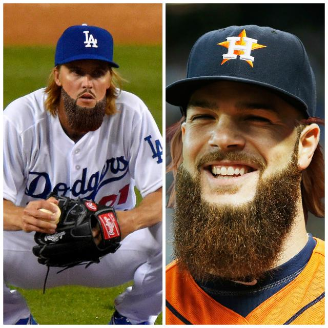 What If Zack Greinke Had Dallas Keuchel's Beard And