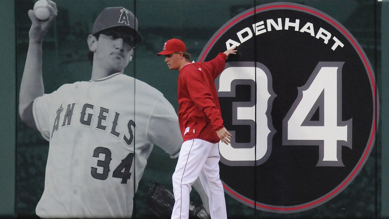 Weaver keeps Adenhart in his thoughts
