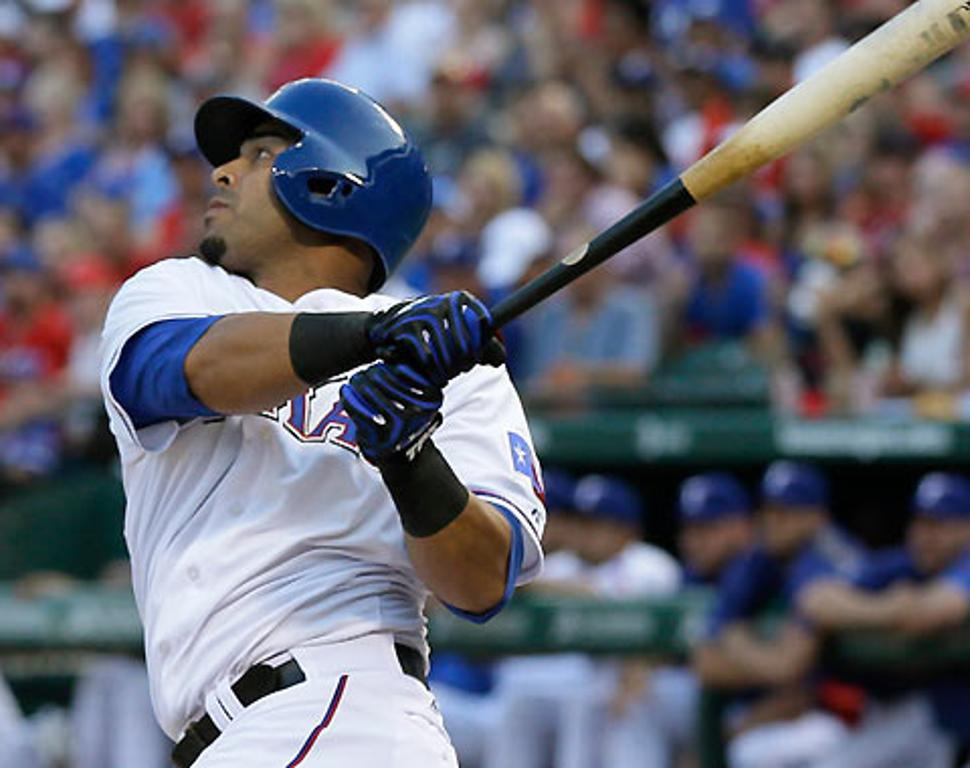 El manager Ron Washington elogió a Nelson Cruz