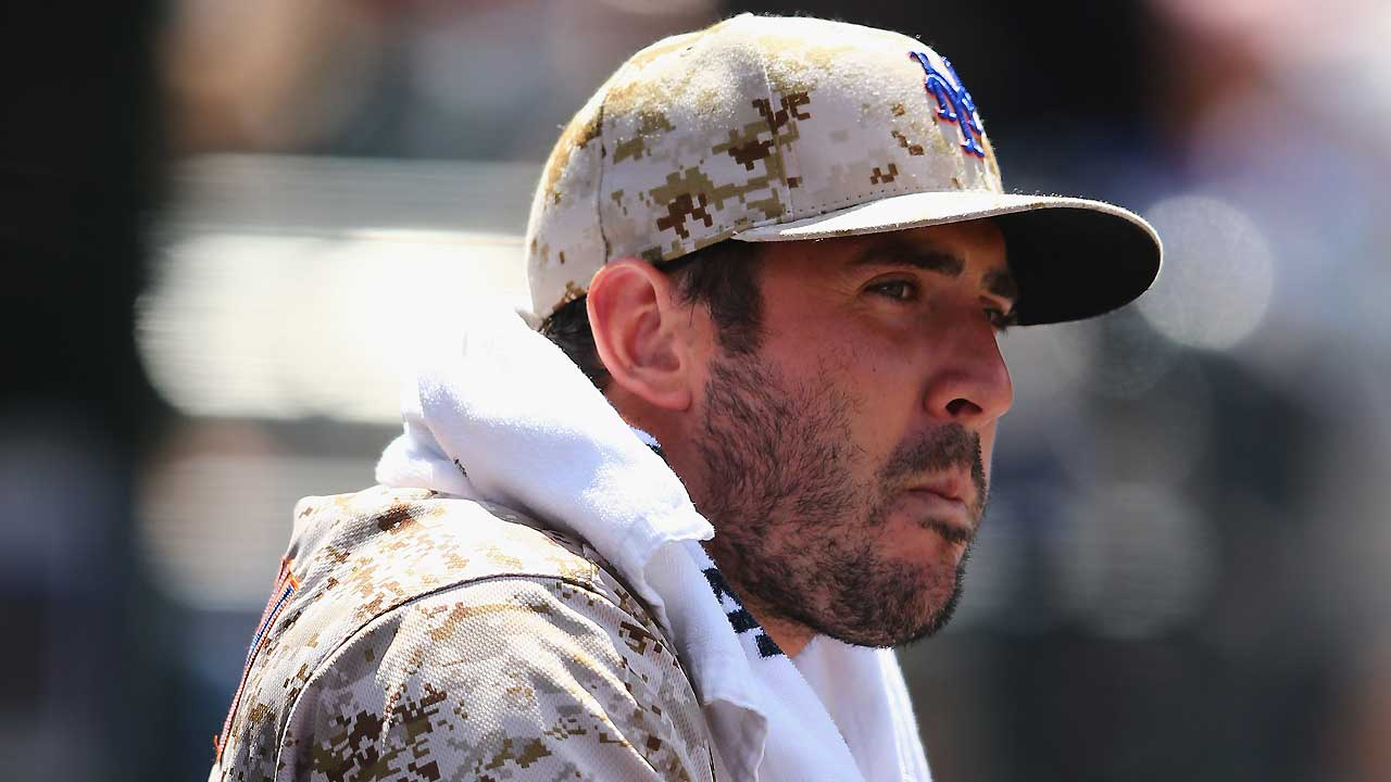Report: Mets to shut down Harvey for season
