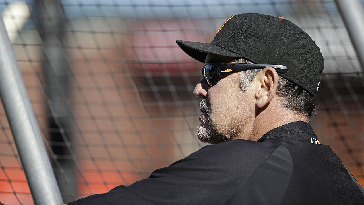 Bochy meets with starters to address struggles