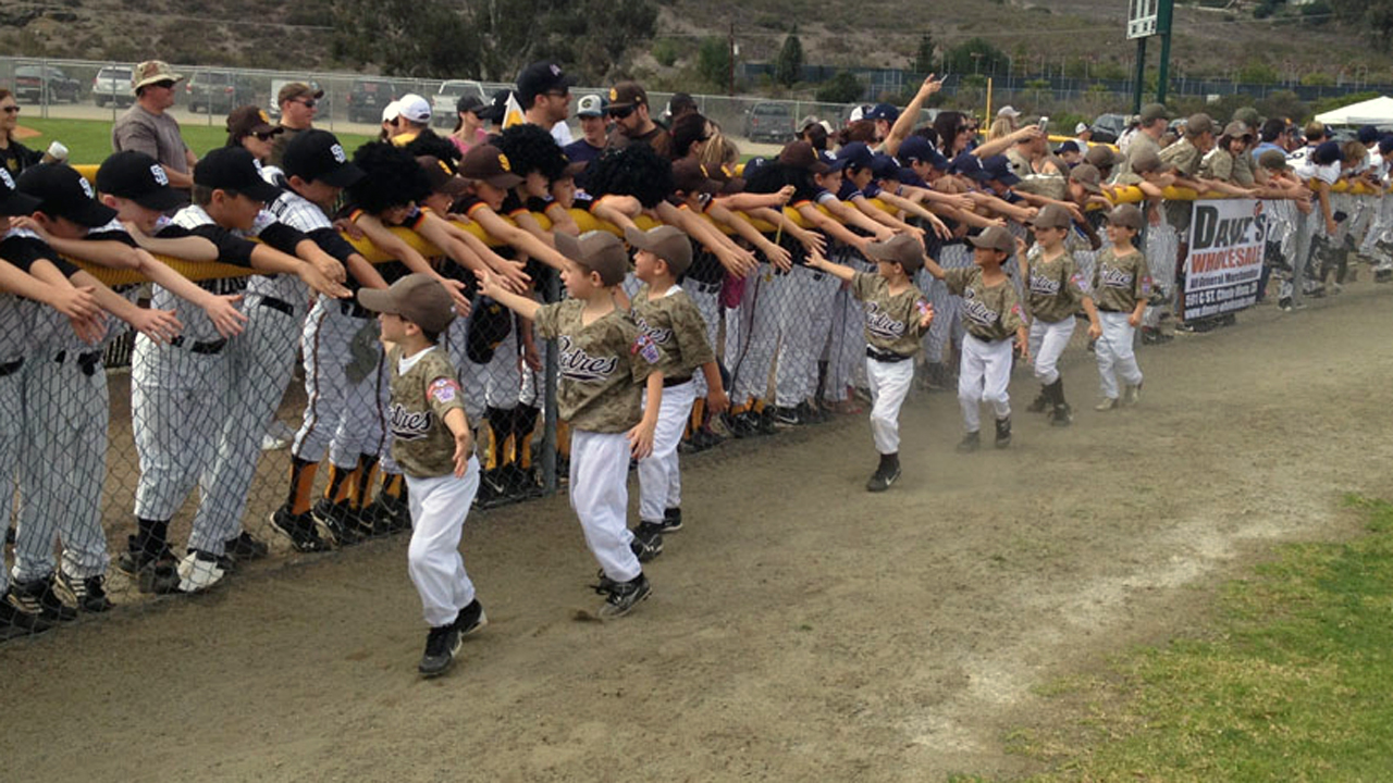 Padres committed to dressing kids like home team