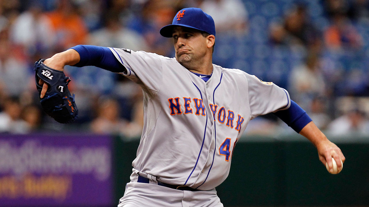 Emotional Byrdak returns to Majors with Mets