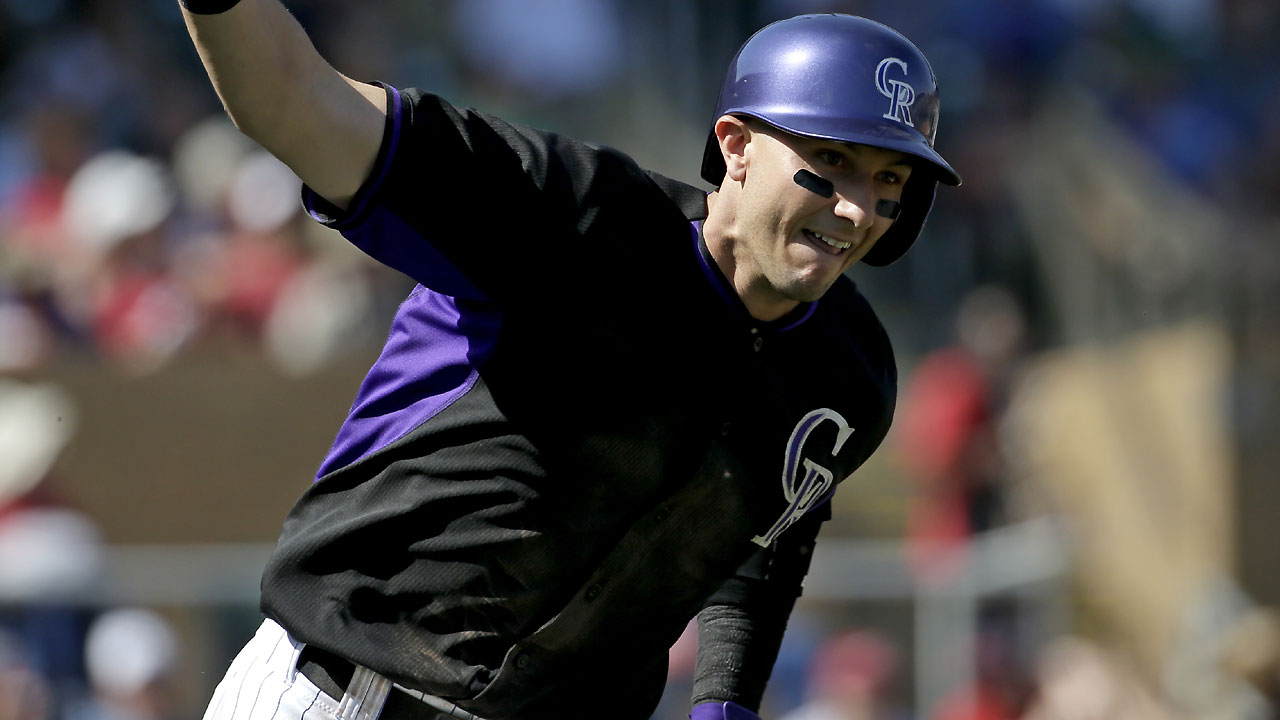 Rockies connect for four homers vs. Angels