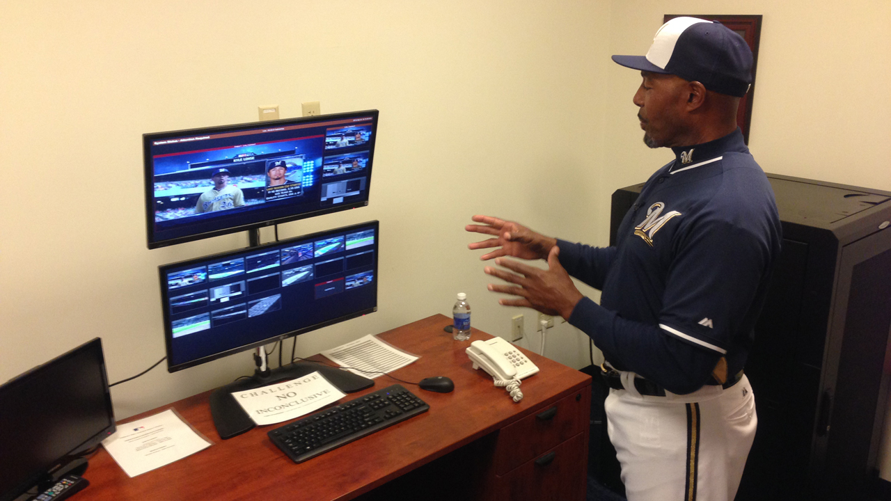 Shelby the point man on instant replay calls