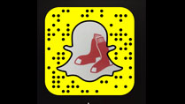 Follow the Red Sox on Snapchat
