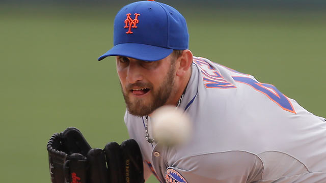 Mets pour on offense in Niese's spotless start