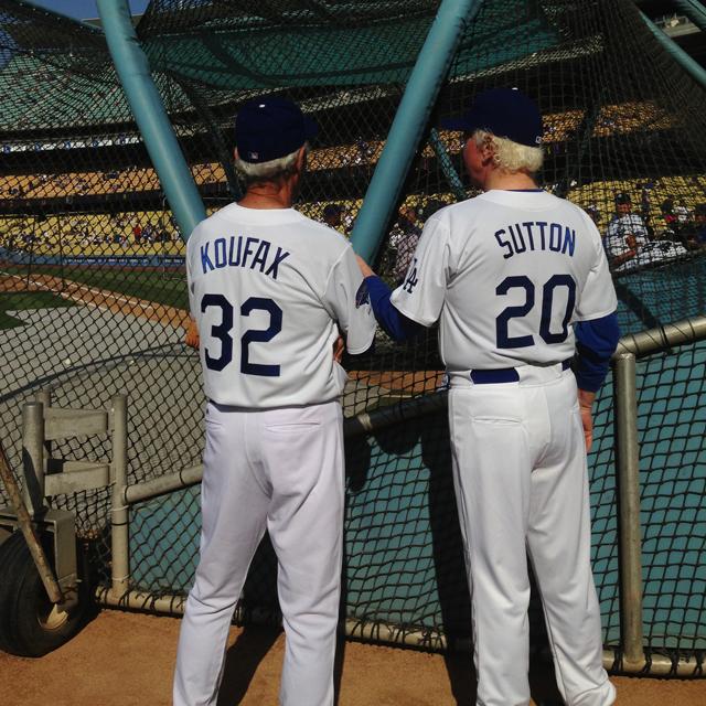 Koufax and Sutton