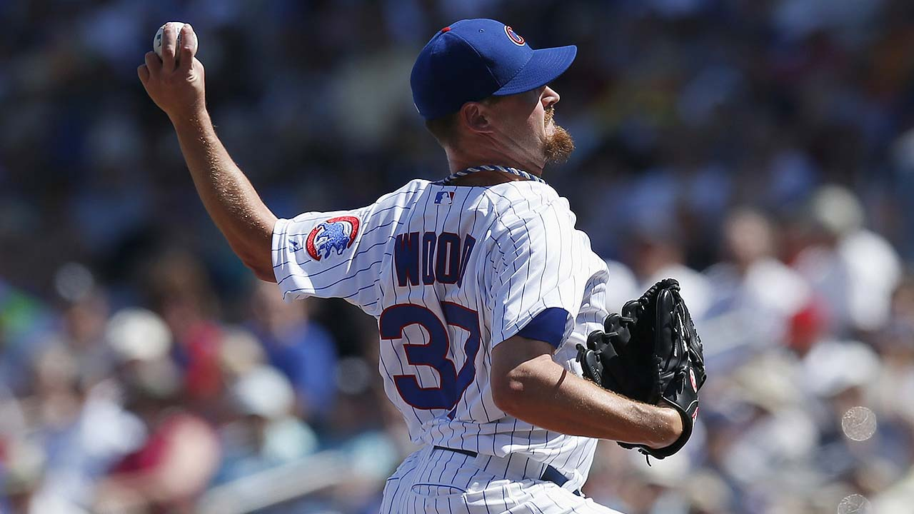 Wood, relievers roughed up as Cubs blanked