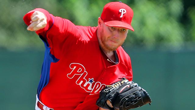 Halladay logs successful first rehab start