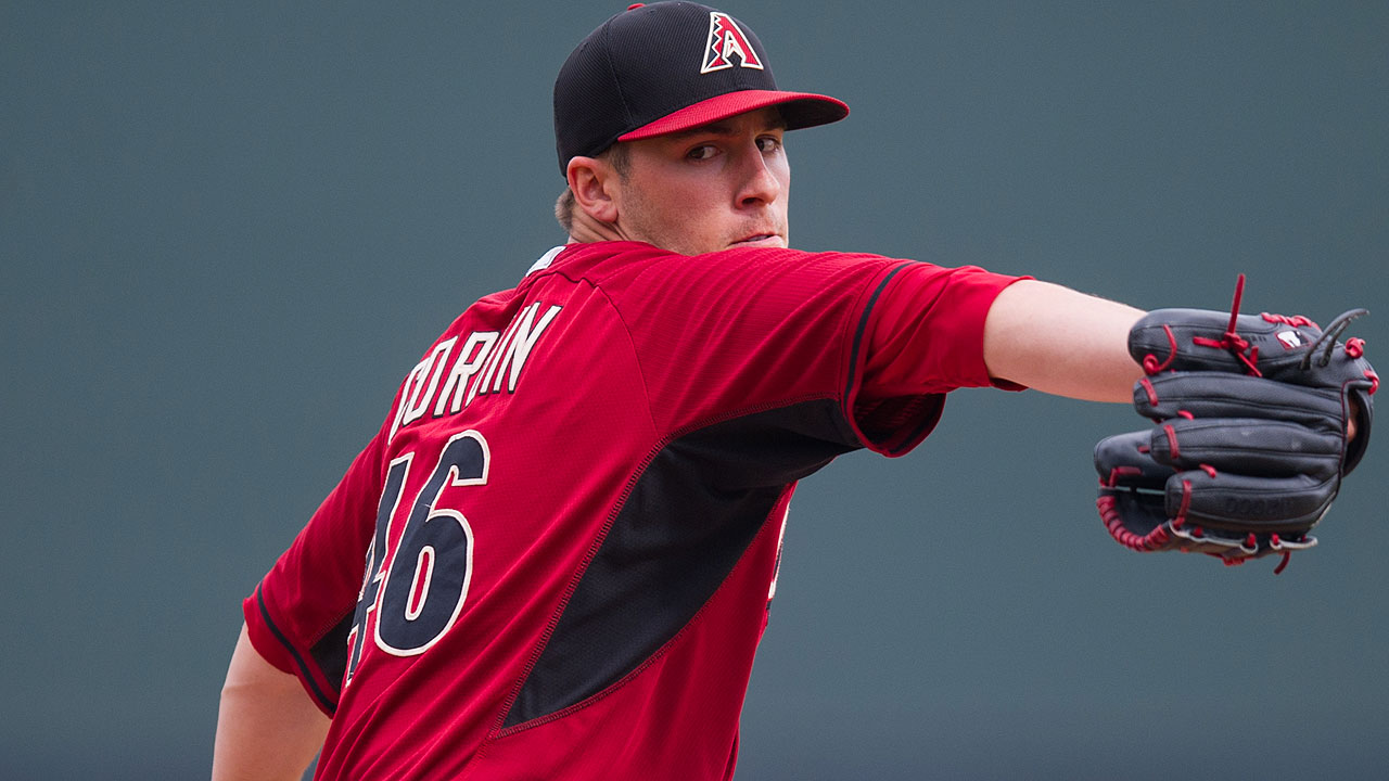 Corbin works five innings in tie with Mariners