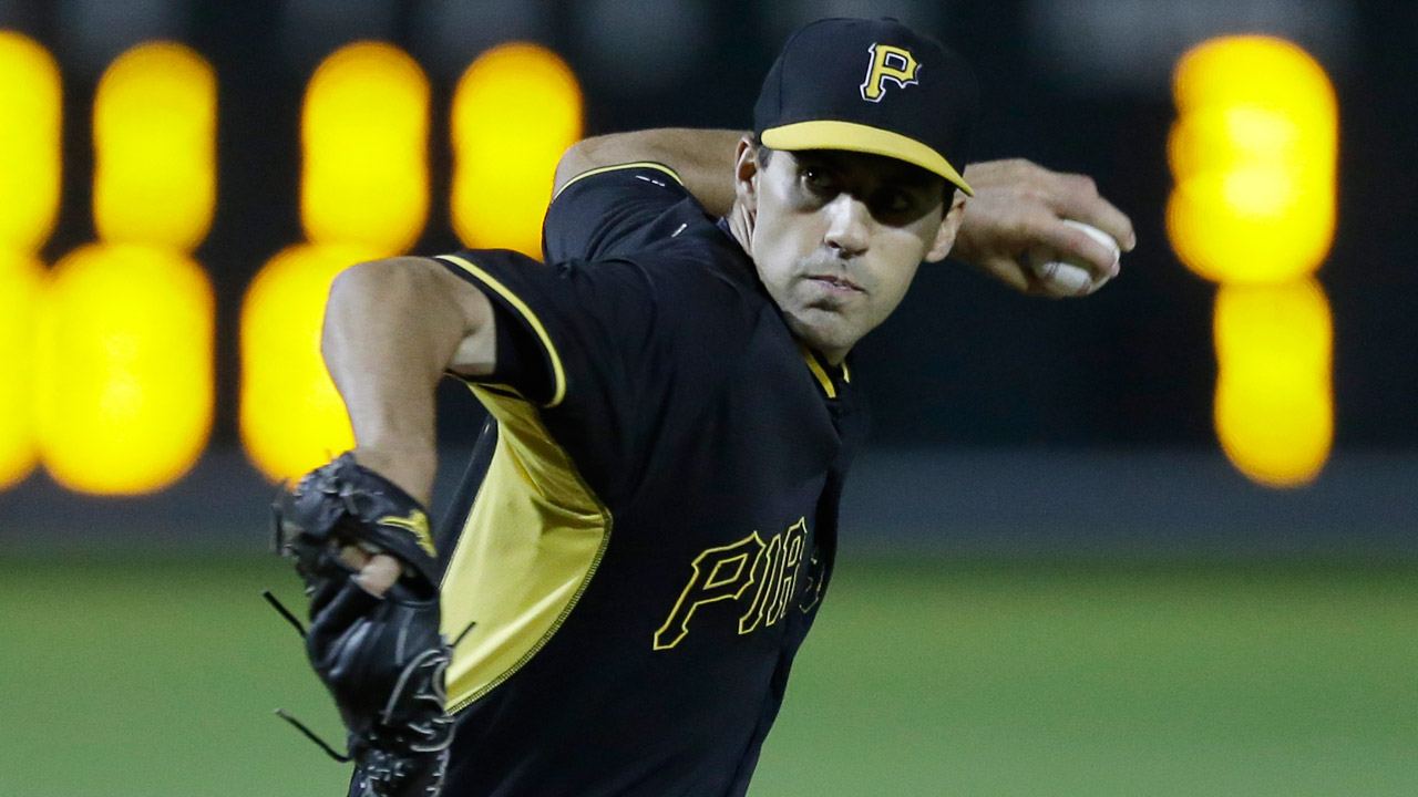 Mann opening eyes in Pirates spring camp