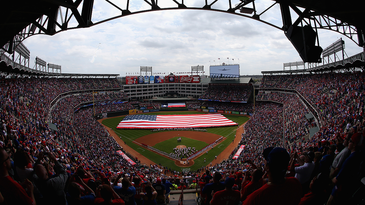 Rangers visit A's, welcome Astros to open '15 season