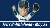 FELIX PERFECT GAME BOBBLEHEAD