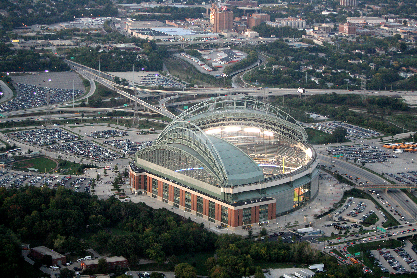 Miller Park Events: Directions | Milwaukee Brewers