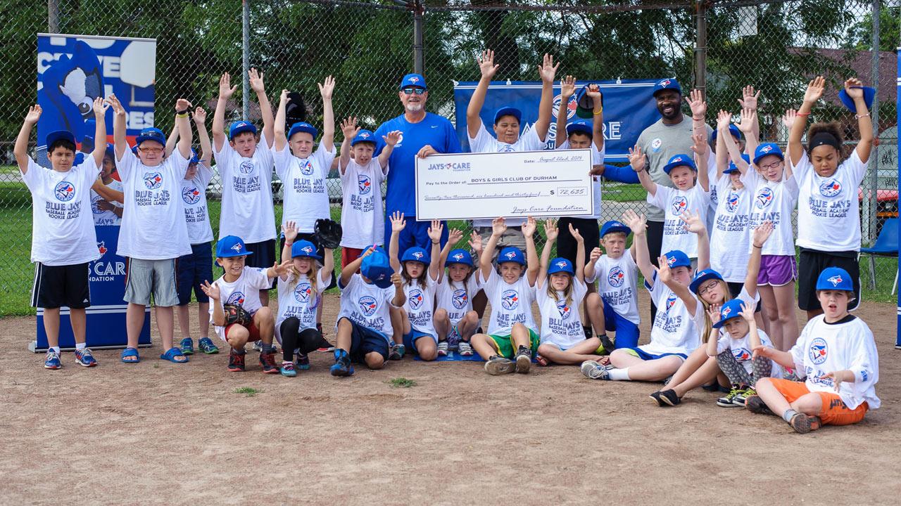 Jays Care Foundation donates to BGC Durham