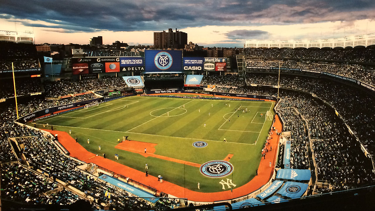 NYCFC's inaugural season set for Yankee Stadium
