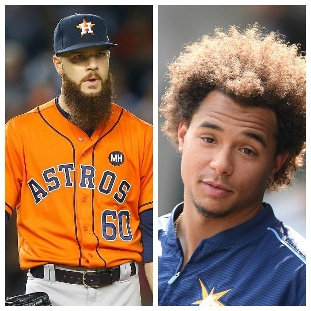 So Which Is Longer, Anyway: Dallas Keuchel's Beard Or